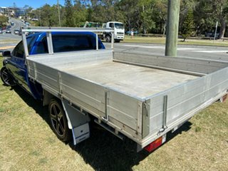 2007 Ford Falcon BF Mk II XL Super Cab Blue 4 Speed Automatic Cab Chassis