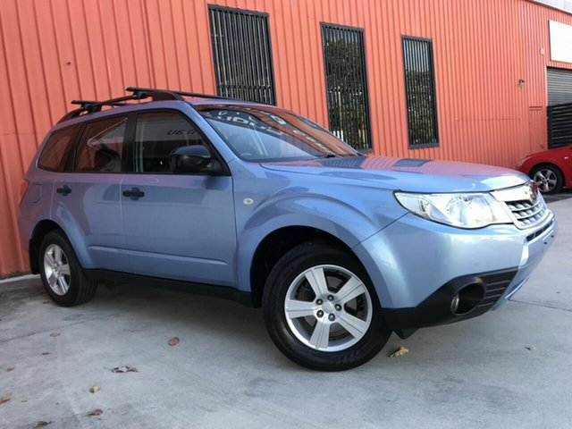 Used Subaru Forester S3 MY12 X AWD Luxury Edition Molendinar, 2012 Subaru Forester S3 MY12 X AWD Luxury Edition Blue 4 Speed Sports Automatic Wagon