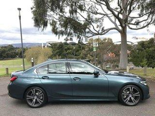 2020 BMW 3 Series G20 330i Steptronic Luxury Line Blue 8 Speed Sports Automatic Sedan.