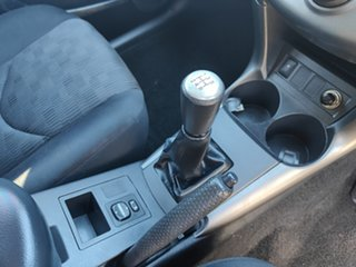2009 Toyota RAV4 ACA33R MY09 CV Silver 5 Speed Manual Wagon