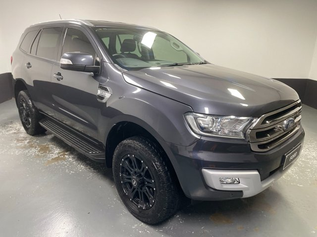 Used Ford Everest UA Trend Rutherford, 2017 Ford Everest UA Trend Grey 6 Speed Sports Automatic SUV