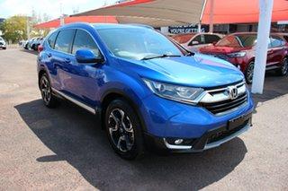 2017 Honda CR-V RW MY18 VTi-L FWD Blue 1 Speed Continuous Variable Wagon.