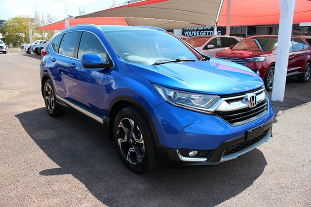Pre-Owned Honda CR-V RW MY18 VTi-L FWD Darwin, 2017 Honda CR-V RW MY18 VTi-L FWD Blue 1 Speed Continuous Variable Wagon
