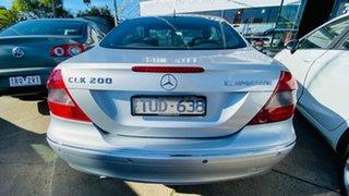 2005 Mercedes-Benz CLK-Class A209 MY06 CLK200 Kompressor Avantgarde Silver 5 Speed Automatic Coupe