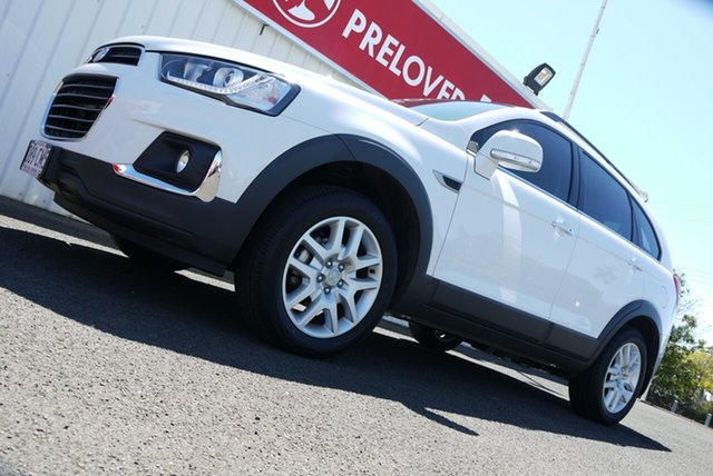 Used Holden Captiva CG MY17 Active 2WD Bundaberg, 2017 Holden Captiva CG MY17 Active 2WD White 6 Speed Sports Automatic Wagon