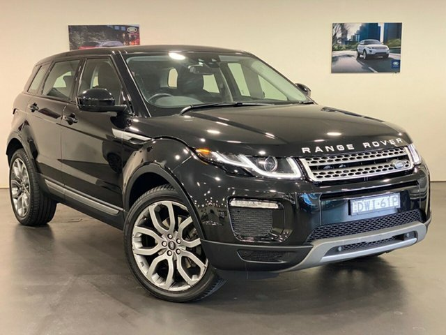 Used Land Rover Range Rover Evoque L538 MY18 TD4 150 SE Brookvale, 2018 Land Rover Range Rover Evoque L538 MY18 TD4 150 SE Black 9 Speed Sports Automatic Wagon