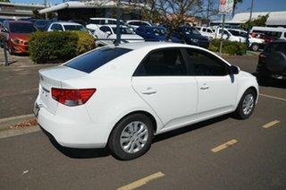 2011 Kia Cerato TD MY12 S White 6 Speed Manual Sedan.