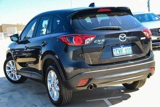 2012 Mazda CX-5 KE1071 Grand Touring SKYACTIV-Drive AWD Black 6 Speed Sports Automatic Wagon.