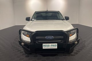 2016 Ford Ranger PX XL White 6 speed Automatic Utility.