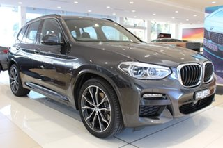 2020 BMW X3 G01 xDrive30d Steptronic M Sport Sophisto Grey 8 Speed Sports Automatic Wagon.