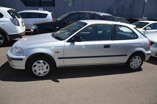 1997 Honda Civic CXi Silver 4 Speed Automatic Hatchback.
