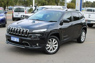 2014 Jeep Cherokee KL MY15 Limited Black 9 Speed Sports Automatic Wagon.