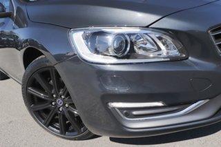 2014 Volvo S60 F Series MY14 T5 Geartronic Luxury Savile Grey 8 Speed Sports Automatic Sedan.