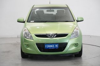 2012 Hyundai i20 PB MY12 Active Electric Green 4 Speed Automatic Hatchback.
