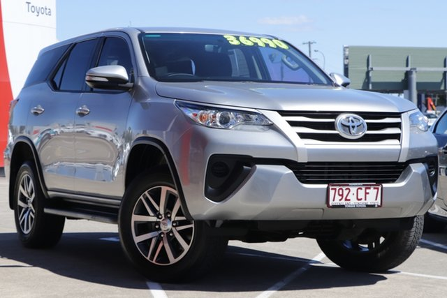 Pre-Owned Toyota Fortuner GUN156R GX Albion, 2016 Toyota Fortuner GUN156R GX Silver Sky 6 Speed Automatic Wagon