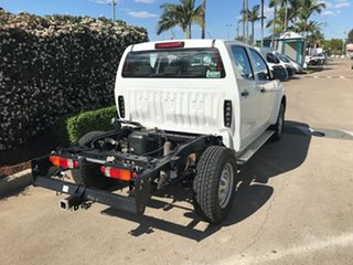 2019 Isuzu D-MAX MY18 SX Crew Cab 4x2 High Ride White 6 speed Automatic Cab Chassis