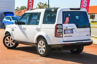 2015 Land Rover Discovery Series 4 L319 MY16 HSE White 8 Speed Sports Automatic Wagon.