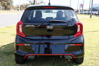 2021 Kia Picanto JA MY22 S Aurora Black 5 Speed Manual Hatchback.