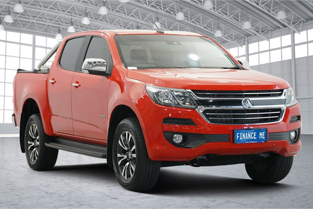 Used Holden Colorado RG MY19 LTZ Pickup Crew Cab Victoria Park, 2019 Holden Colorado RG MY19 LTZ Pickup Crew Cab Red 6 Speed Sports Automatic Utility