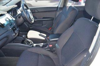 2011 Kia Cerato TD MY12 S White 6 Speed Manual Sedan
