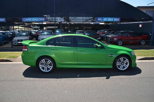 Used Holden Commodore VE II SS Toowoomba, 2010 Holden Commodore VE II SS Green 6 Speed Automatic Sedan