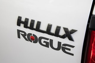 2019 Toyota Hilux GUN126R Rogue Double Cab Crystal Pearl 6 Speed Sports Automatic Utility