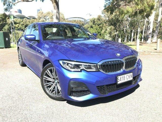 Used BMW 3 Series G20 320i Steptronic Luxury Line Adelaide, 2021 BMW 3 Series G20 320i Steptronic Luxury Line Blue 8 Speed Sports Automatic Sedan