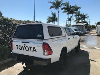 2018 Toyota Hilux GUN126R SR Double Cab Glacier 6 speed Automatic Utility
