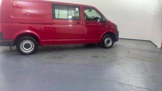 2017 Volkswagen Transporter T6 MY18 TDI340 Crewvan LWB DSG Red 7 Speed Sports Automatic Dual Clutch