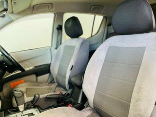 2011 Mitsubishi Triton MN MY11 GLX-R Double Cab White 5 Speed Sports Automatic Utility