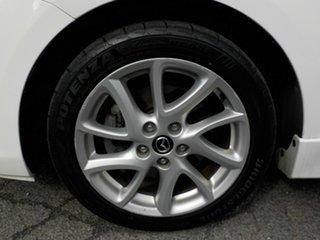 2012 Mazda 3 BL 11 Upgrade SP25 White 6 Speed Manual Hatchback