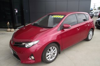 2012 Toyota Corolla ZRE152R MY11 Ascent Sport Red 6 Speed Manual Hatchback
