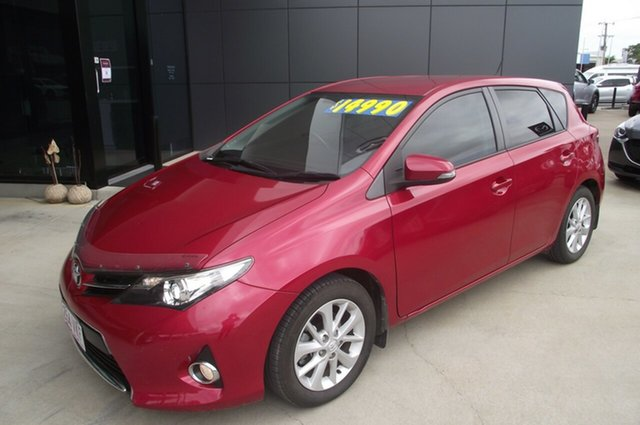 Used Toyota Corolla ZRE152R MY11 Ascent Sport North Rockhampton, 2012 Toyota Corolla ZRE152R MY11 Ascent Sport Red 6 Speed Manual Hatchback