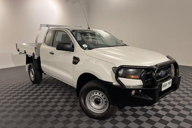 Used Ford Ranger PX MkII XL Acacia Ridge, 2016 Ford Ranger PX MkII XL White 6 speed Manual Cab Chassis