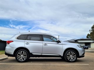 2015 Mitsubishi Outlander ZK MY16 LS 4WD Silver 6 Speed Constant Variable Wagon.