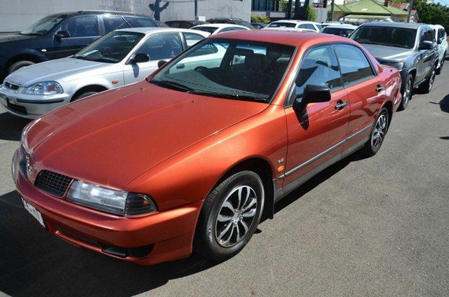 Used Mitsubishi Magna TJ Executive Toowoomba, 2003 Mitsubishi Magna TJ Executive Maroon 4 Speed Auto Sports Mode Sedan