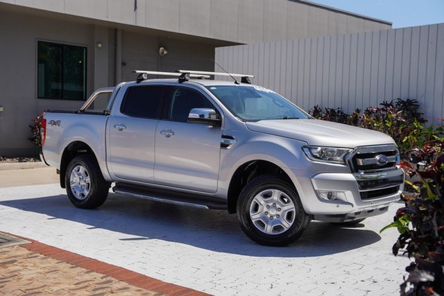 Used Ford Ranger PX MkII XLT Double Cab Cairns, 2017 Ford Ranger PX MkII XLT Double Cab Silver 6 Speed Sports Automatic Utility