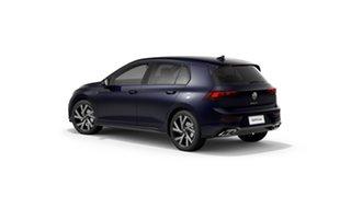2021 Volkswagen Golf 8 110TSI R-Line Atlantic Blue 8 Speed Automatic Hatchback.