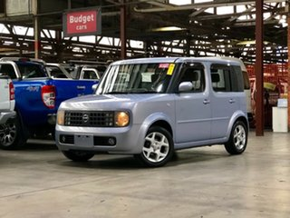 2003 Nissan Cube BZ11 White 4 Speed Automatic Wagon.