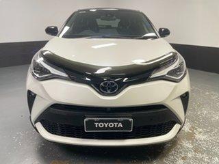2020 Toyota C-HR NGX50R Koba S-CVT AWD White 7 Speed Constant Variable Wagon.