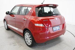 2013 Suzuki Swift FZ RE2 Red 4 Speed Automatic Hatchback.
