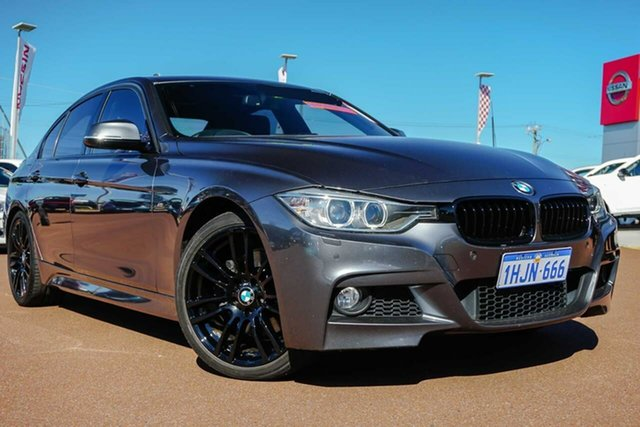 Used BMW 3 Series F30 MY1114 328i M Sport Osborne Park, 2014 BMW 3 Series F30 MY1114 328i M Sport Grey 8 Speed Sports Automatic Sedan
