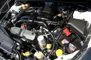 2015 Subaru Impreza G4 MY15 2.0i Lineartronic AWD Premium White 6 Speed Constant Variable Hatchback