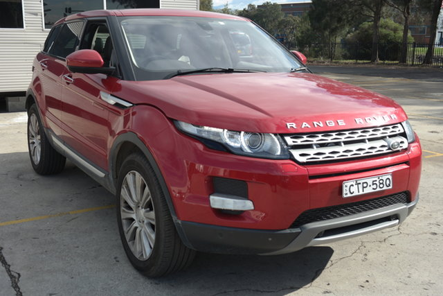Used Land Rover Range Rover Evoque L538 MY14 Coupe Prestige Maryville, 2014 Land Rover Range Rover Evoque L538 MY14 Coupe Prestige Red 9 Speed Sports Automatic Wagon