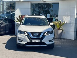 2018 Nissan X-Trail T32 Series II TL X-tronic 4WD White 7 Speed Constant Variable Wagon.