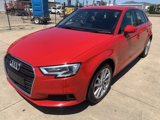 2017 Audi A3 8V MY18 Sportback S Tronic Red/290118 7 Speed Sports Automatic Dual Clutch Hatchback