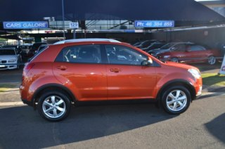 2011 Ssangyong Korando C200 SX Orange 6 Speed Automatic Wagon.