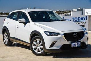 2015 Mazda CX-3 DK2W7A Neo SKYACTIV-Drive White 6 Speed Sports Automatic Wagon.