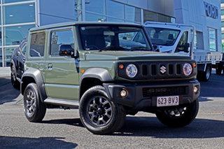 2021 Suzuki Jimny JB74 GLX Green 5 Speed Manual Hardtop.