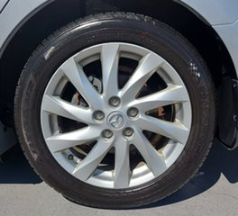 2011 Mazda 6 GH1052 MY12 Touring Silver 5 Speed Sports Automatic Hatchback